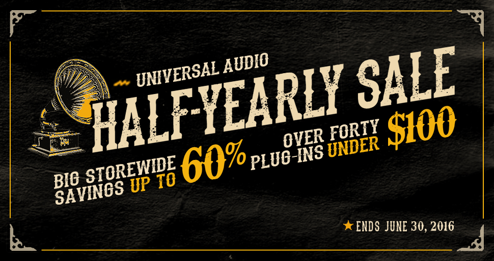Over 40 plug-ins under $100 and storewide savings up to 60%!