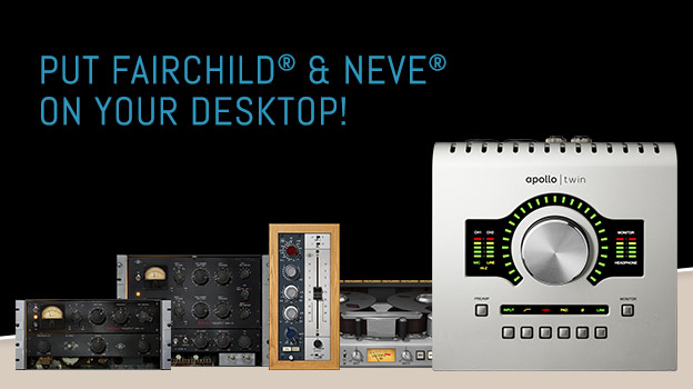 "Apollo Twin ""Put Fairchild® & Neve® On Your Desktop"" Promo."