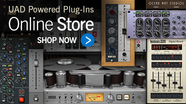The UAD Plug-In Library