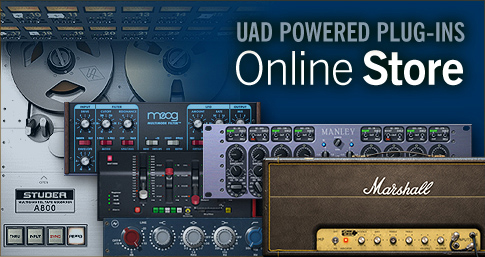 UAD Powered Plug-Ins - Online Store