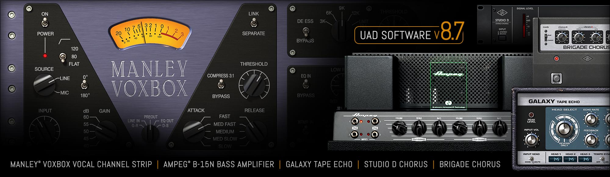 v8.7 UAD Software