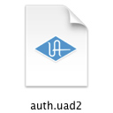 UAD authorization file