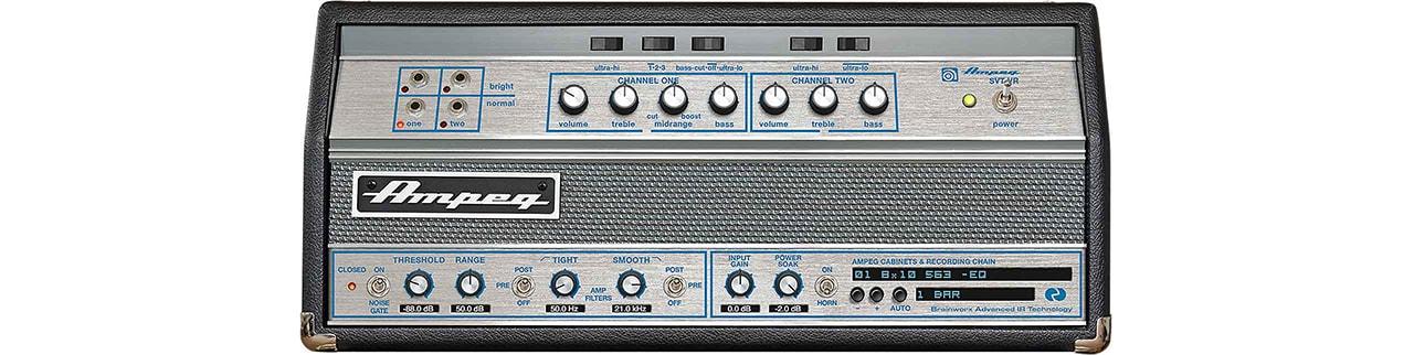 Ampeg Svt Vr Bass Amplifier Uad Audio Plugins Universal Audio