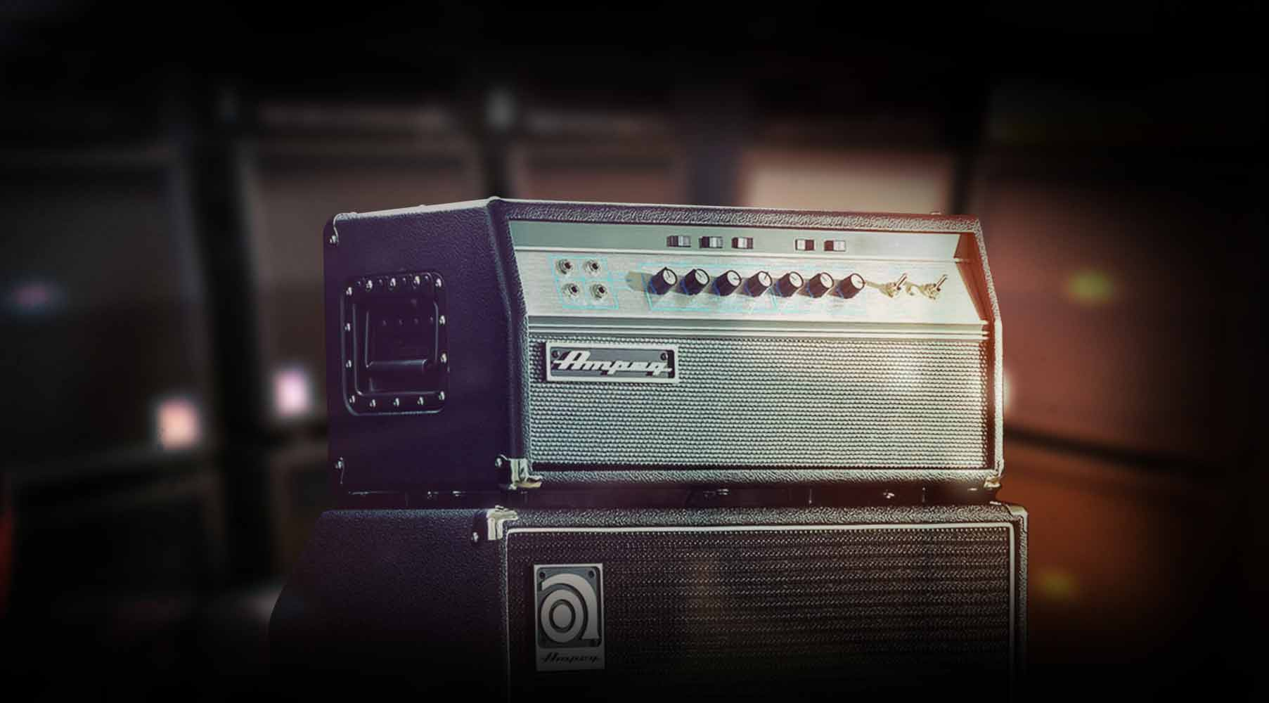 Plug-in Ampeg® SVT-VR Bass Amplifier