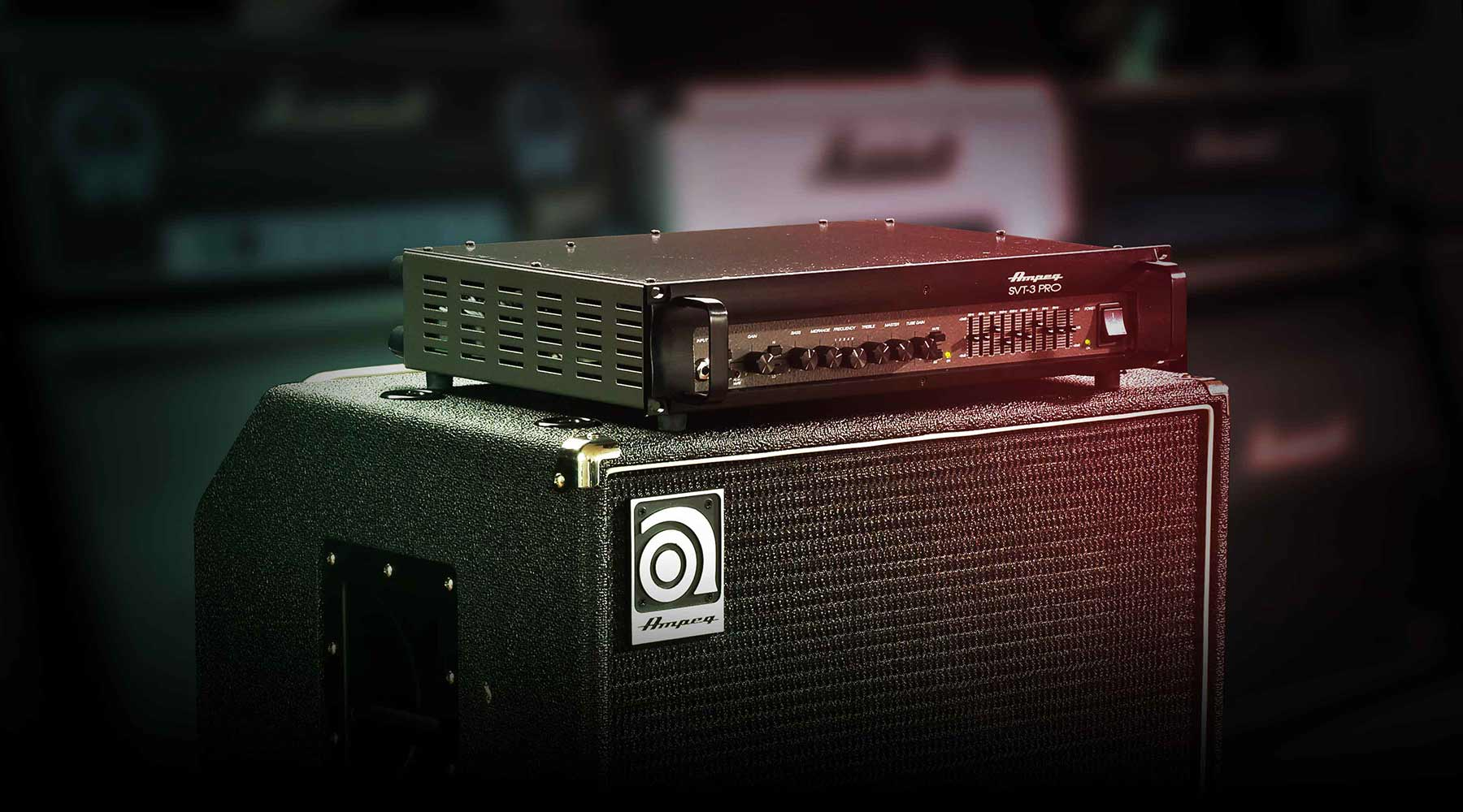 Plug-in Ampeg® SVT-3 PRO Bass Amplifier