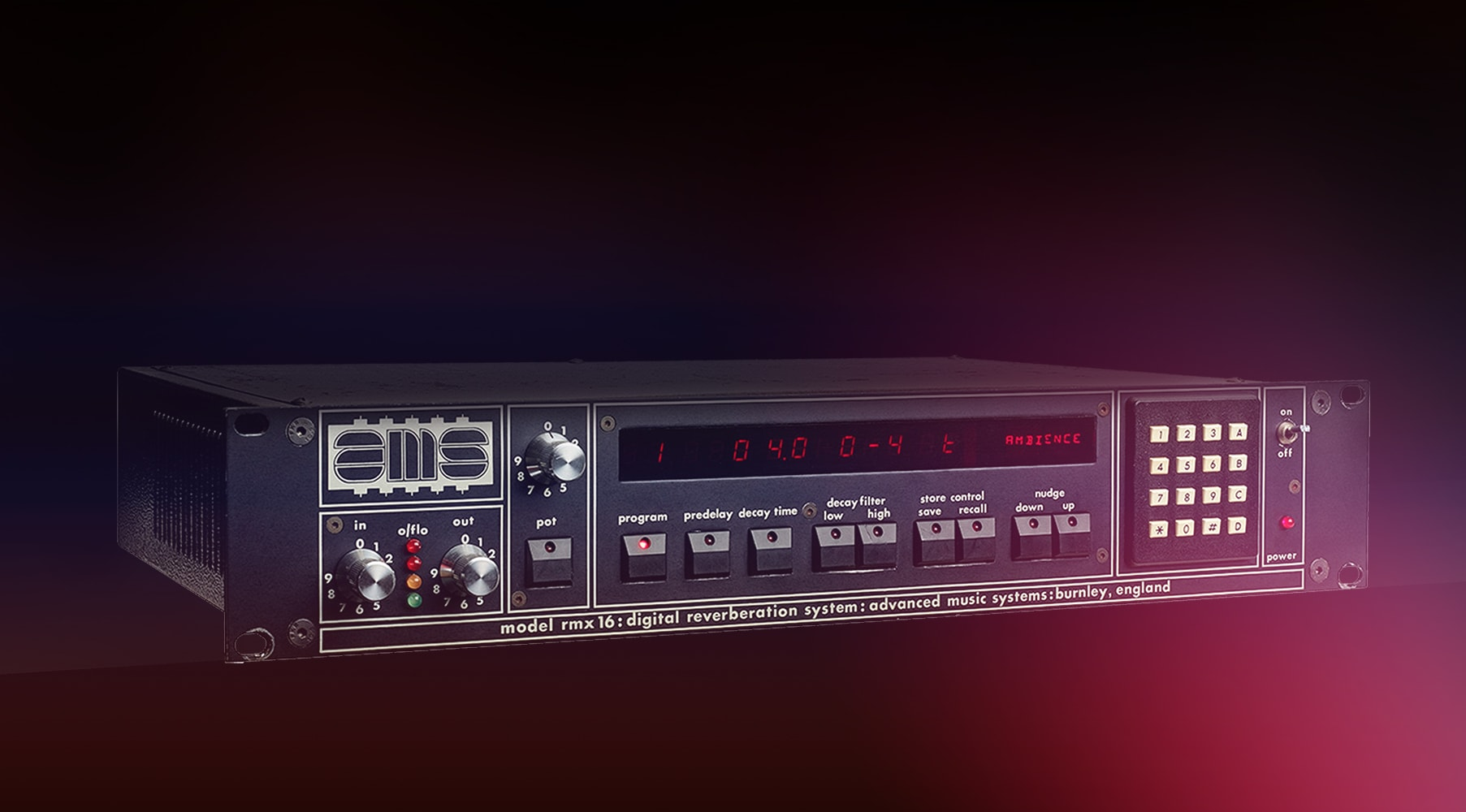 AMS® RMX16 Expanded Digital Reverb
