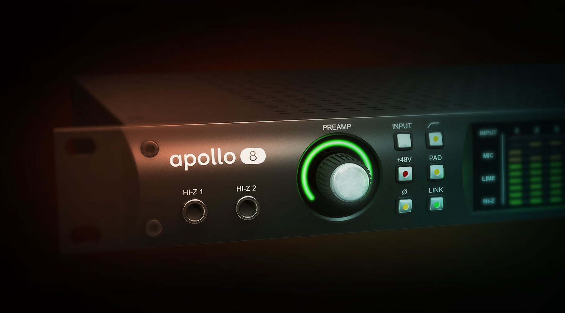 Universal Audio Apollo 8 Thunderbolt Audio Interface with Duo Processing