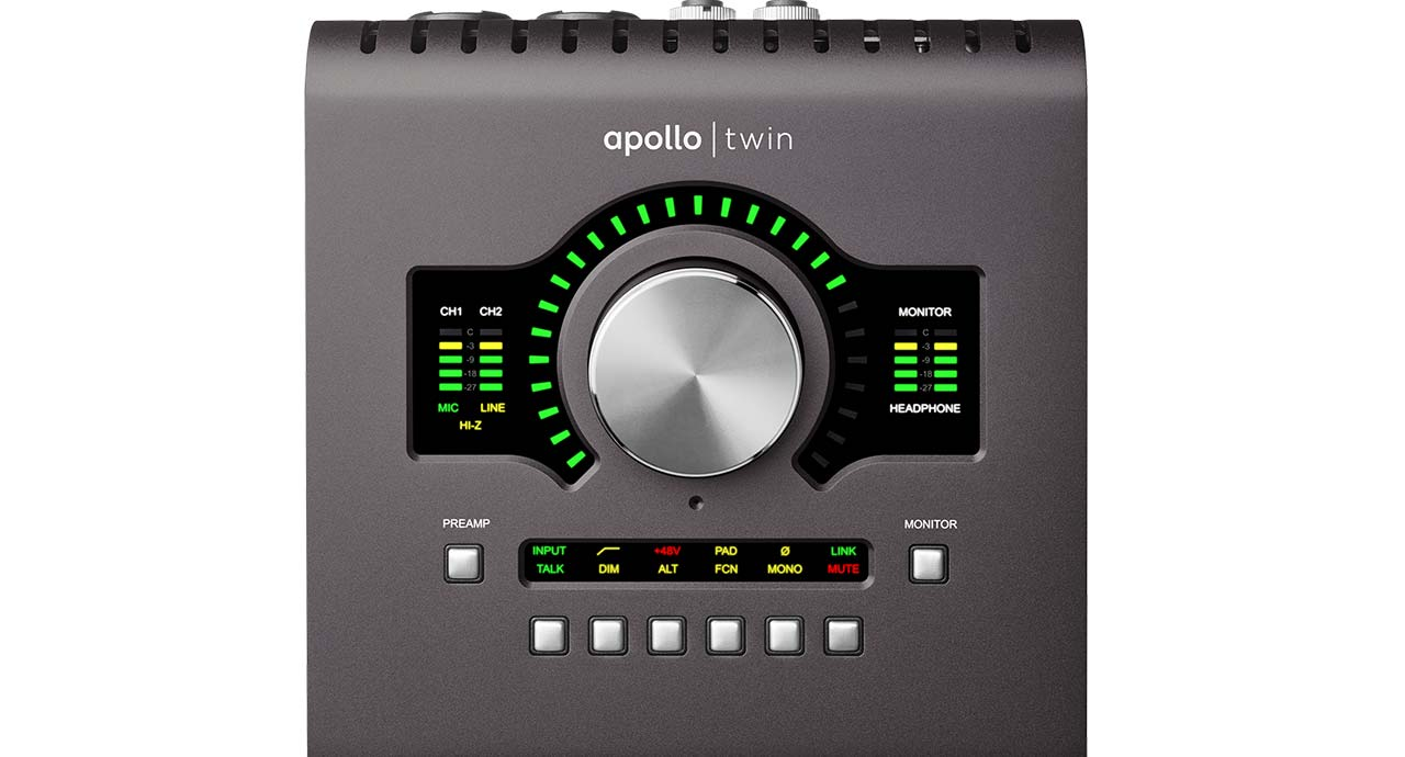 Apollo Twin Mk Ii Thunderbolt Audio Interface Universal Amplifier Circuitresize By Dragging With The Right Mouse Button Next Generation Conversion Classic Analog Sound And Quad Core Processing