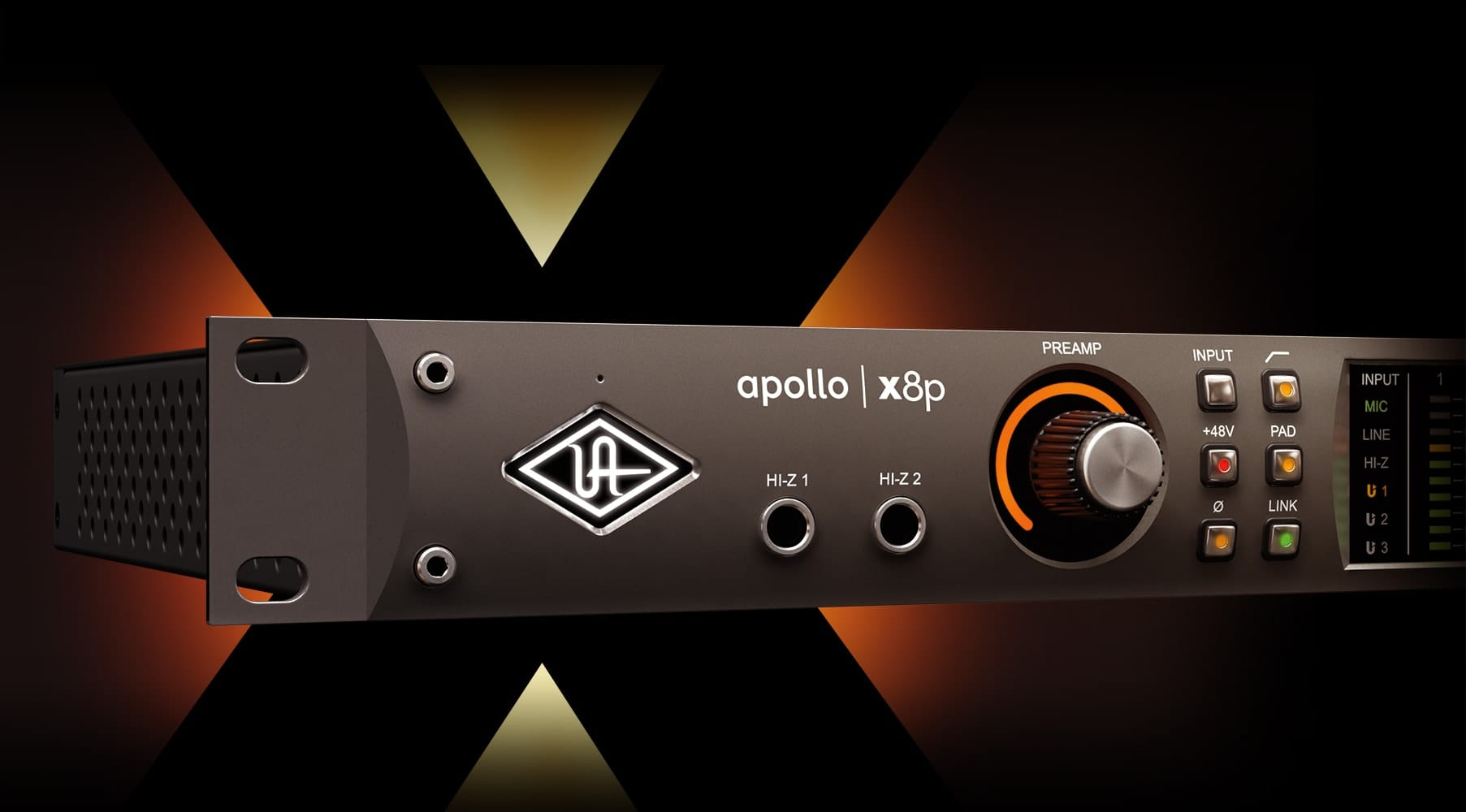 Apollo x8p | Thunderbolt Audio Interface | Universal Audio
