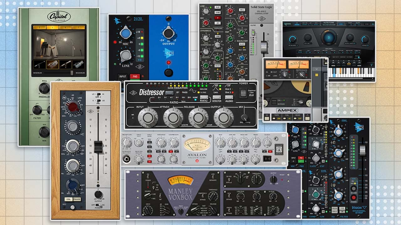Where to Begin — 10 UAD Powered Plug-Ins Every New UAD-2