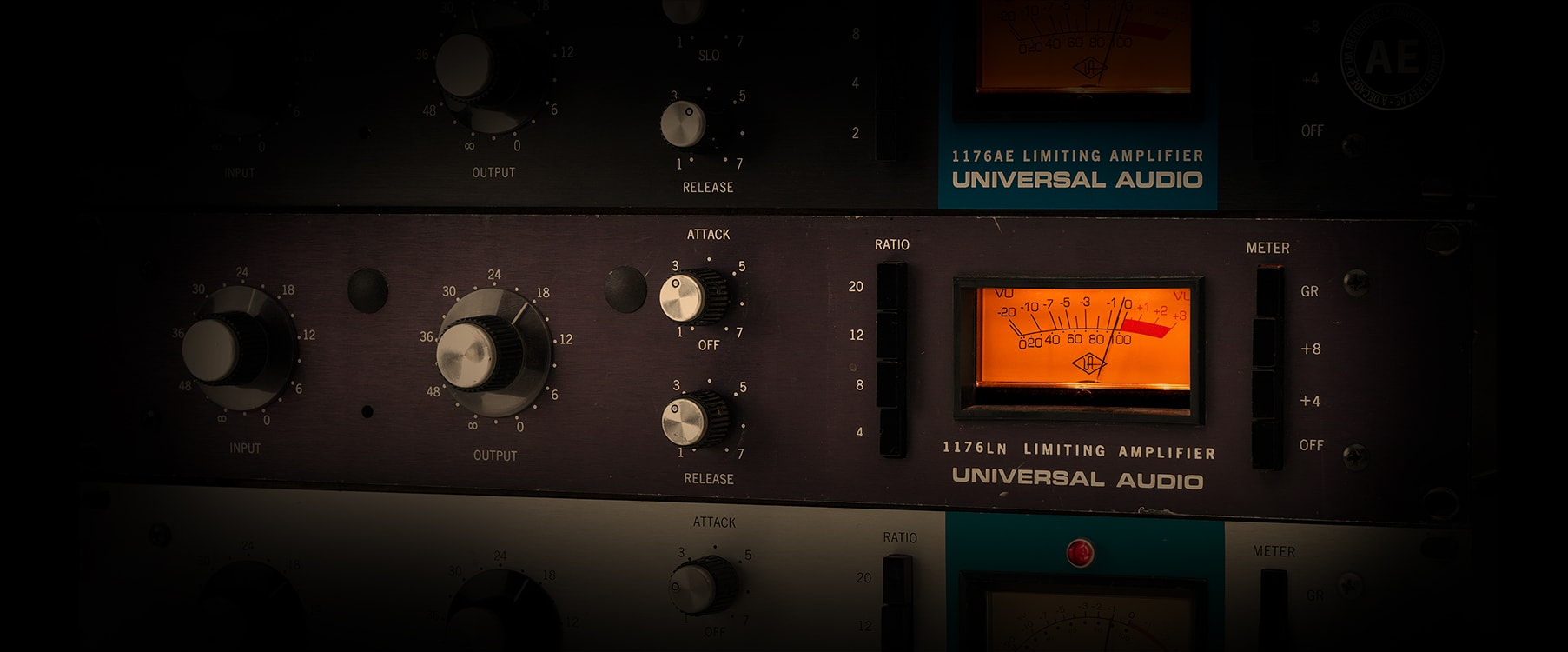 Tips Tricks 1176 Classic Limiter Collection Universal Audio Distortion Meter