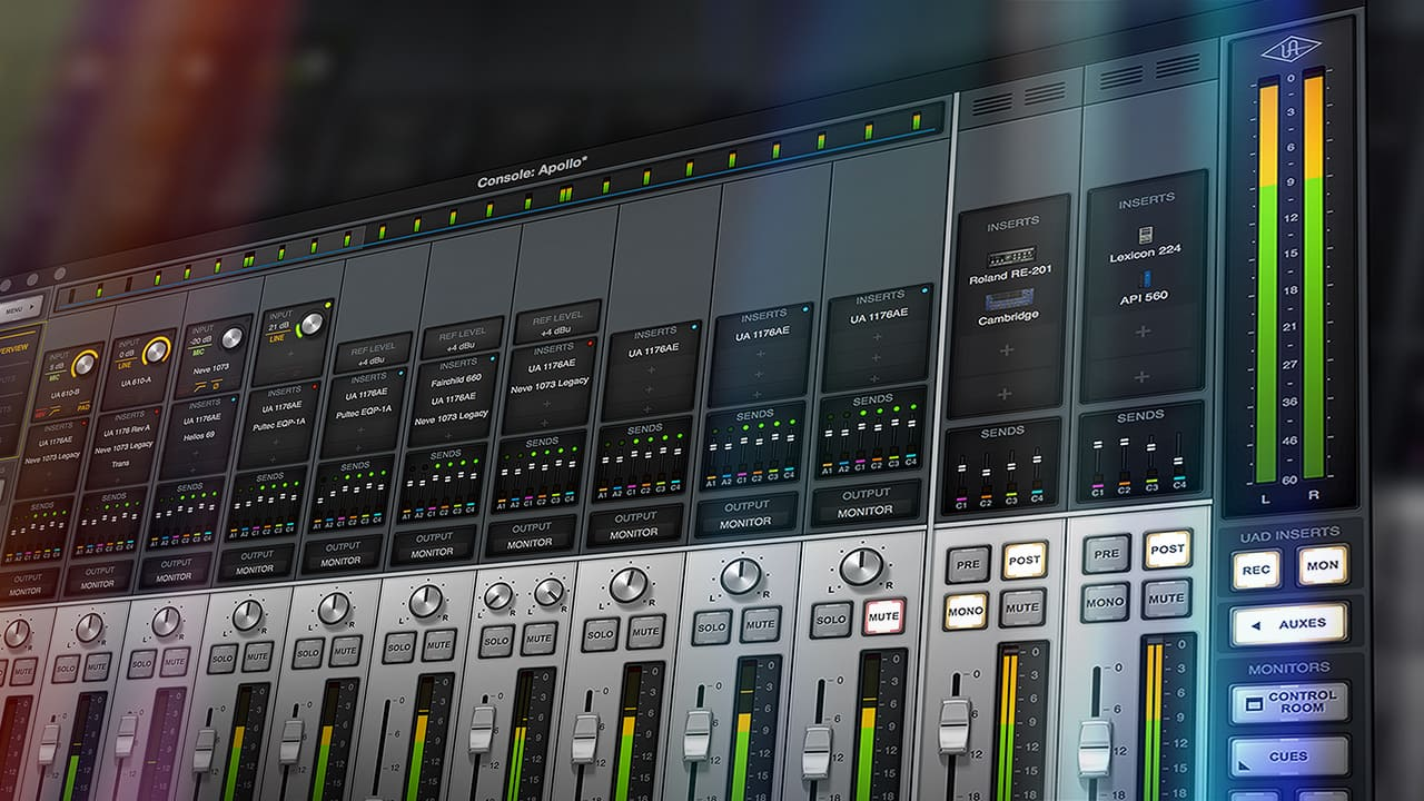Learn to Use Console | Universal Audio
