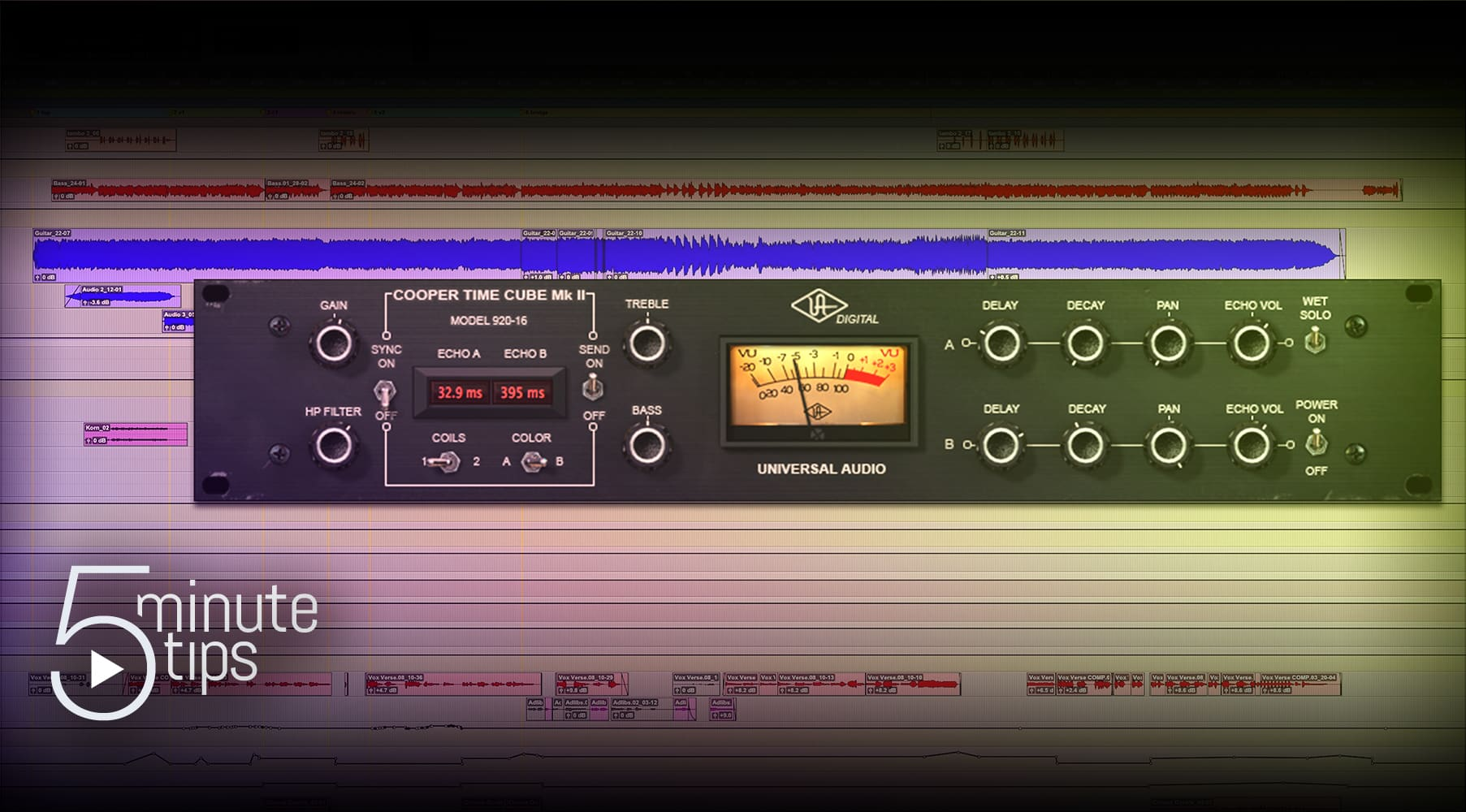 5-Min UAD Tips: Cooper Time Cube Plug-In
