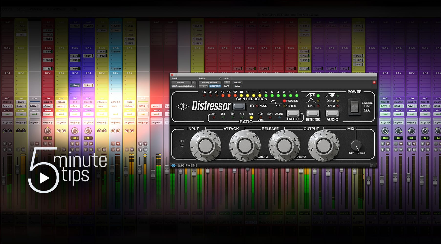 5-Min UAD Tips: Empirical Labs EL8 Distressor