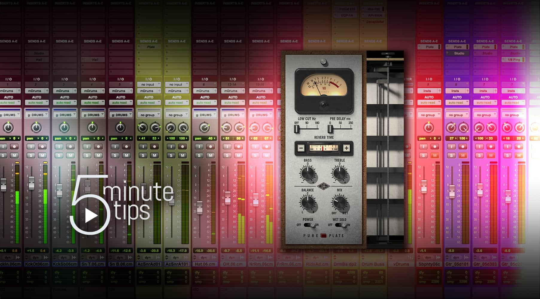 5-Min UAD Tips: Pure Plate Reverb
