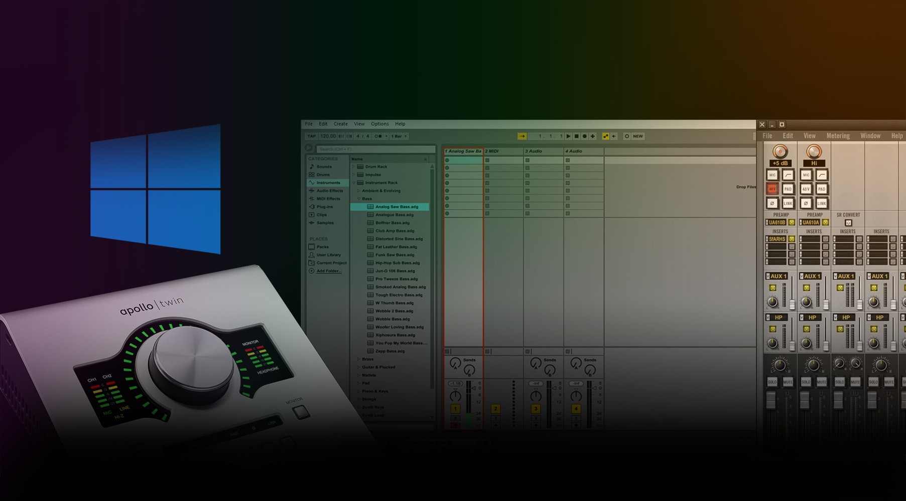 Using Apollo Twin USB with Ableton Live (Full Version)