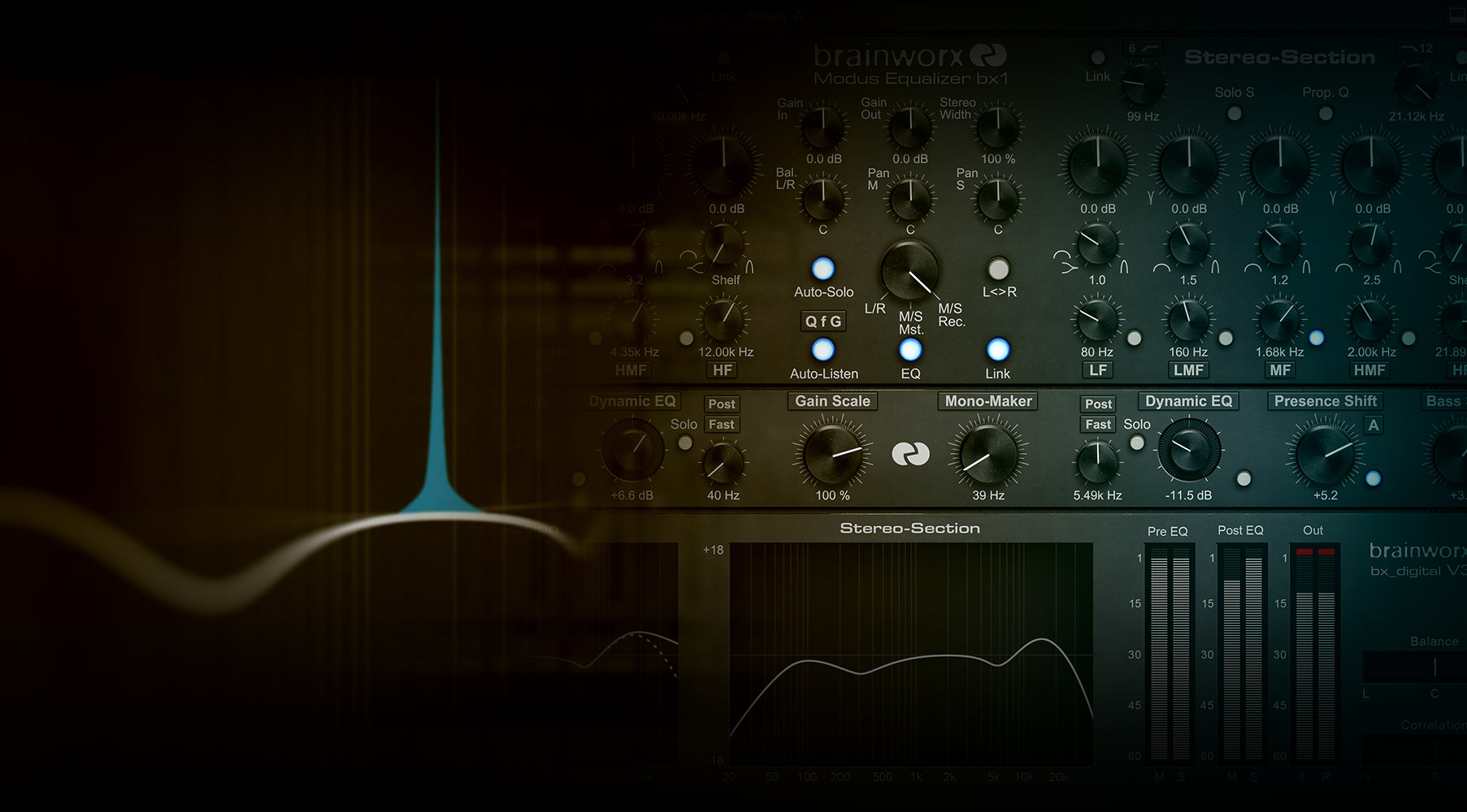 Brainworx bx_digital V3 EQ Collection