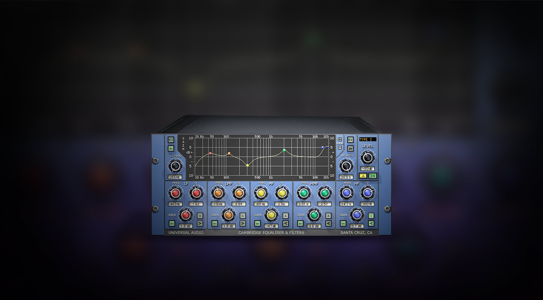 Plug-In Cambridge EQ