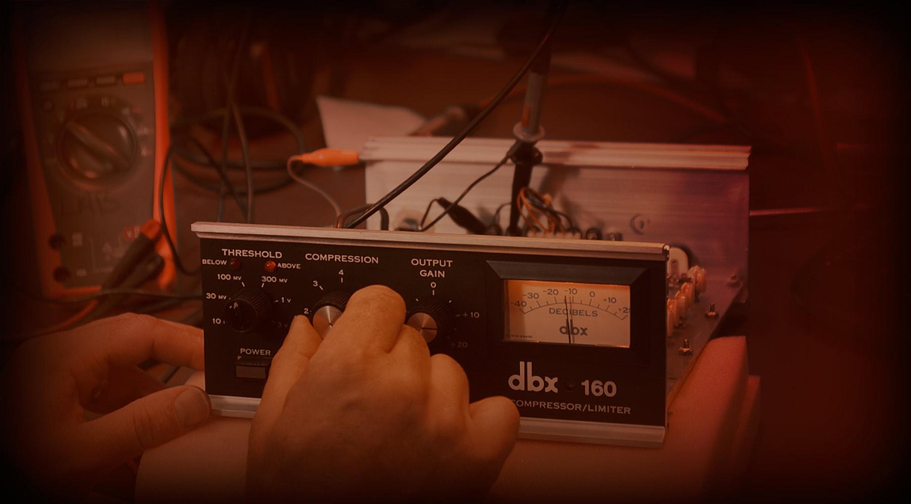Plug-In dbx® 160 Compressor / Limiter