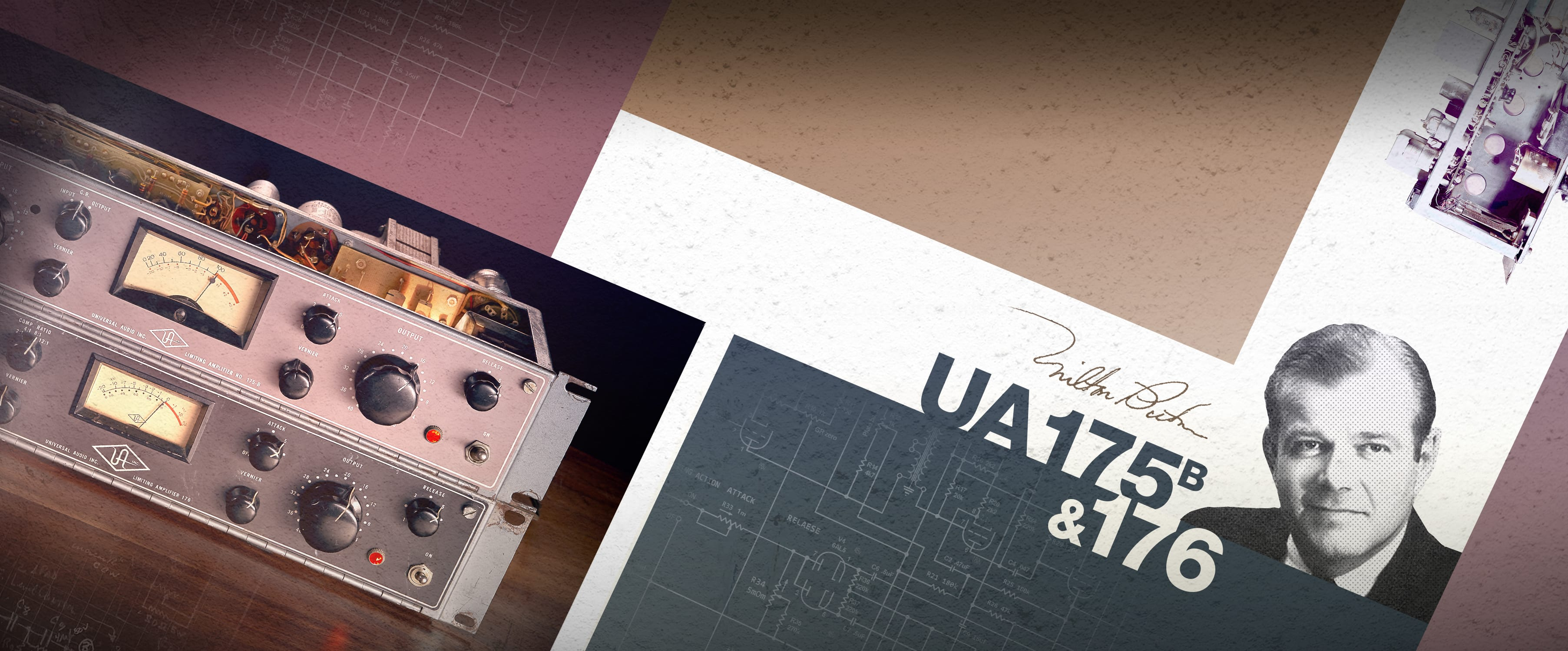 UAD | UA 175B & 176 Tube Compressor Collection