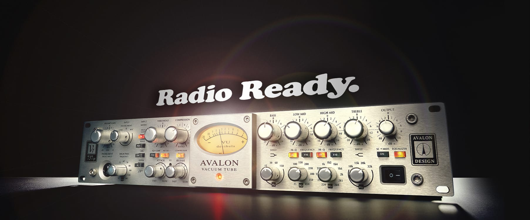 UAD | Avalon VT-737 Tube Channel Strip