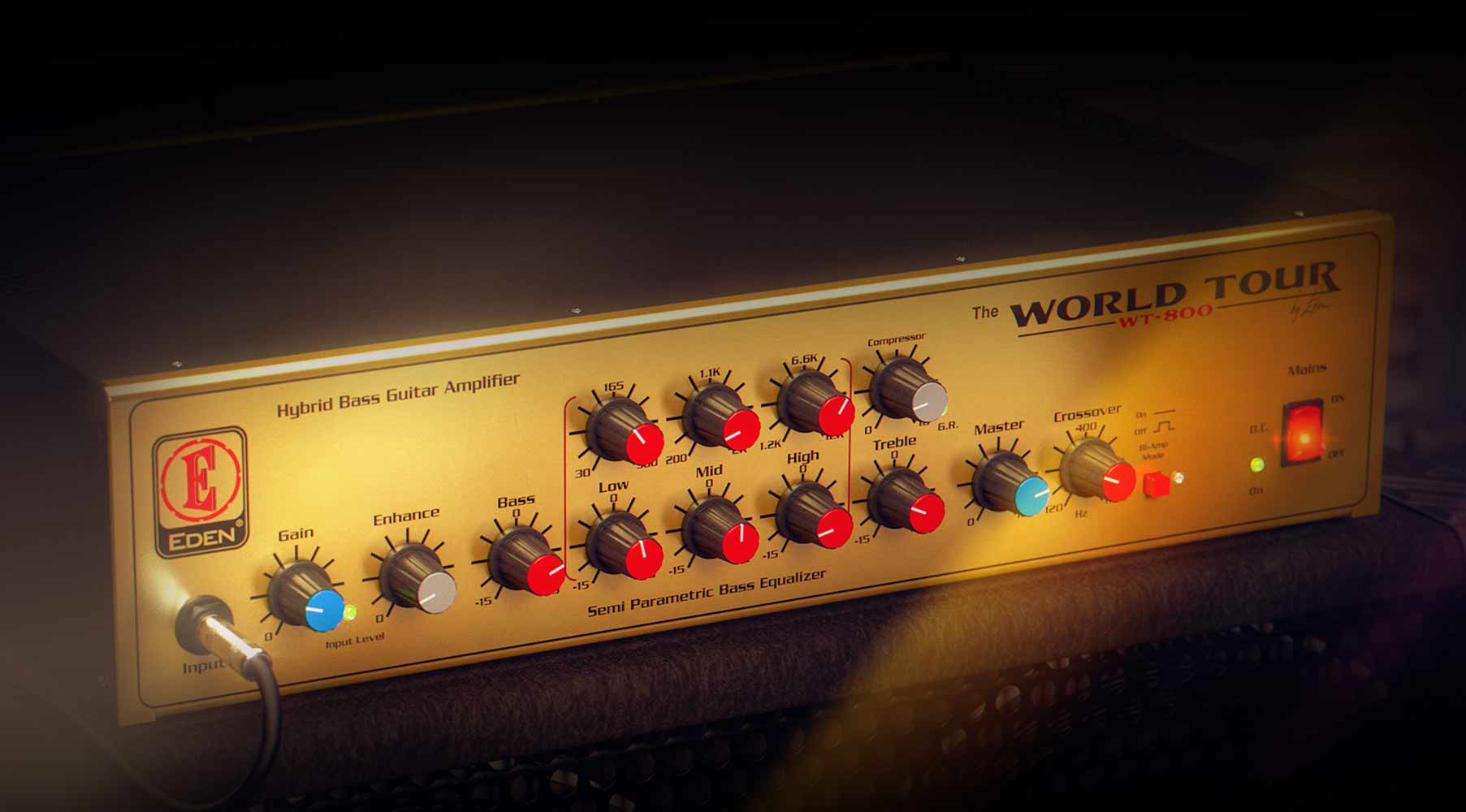 Eden® WT800 Bass Amplifier