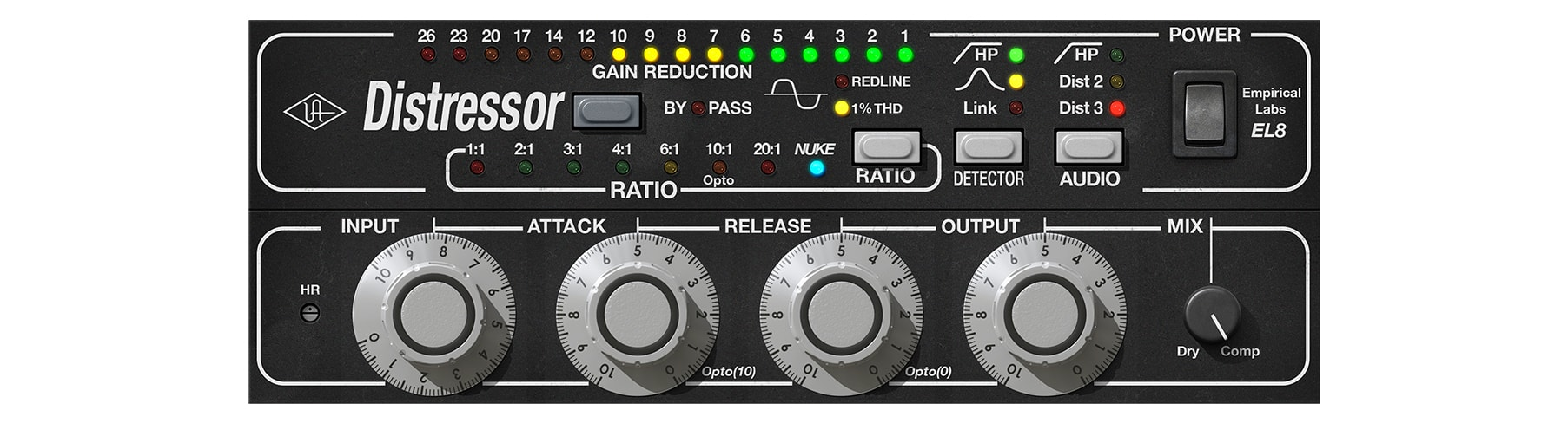 Empirical labs el8 distressor compressor uad audio plugins introduced in 1993 the empirical labs el8 distressor is revered in studios all over the world as the modern must have compressor stopboris Image collections