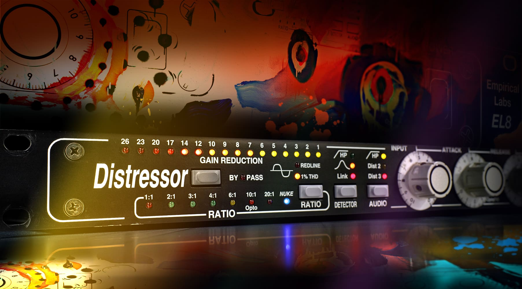 Compresseur Empirical Labs ® EL8 Distressor