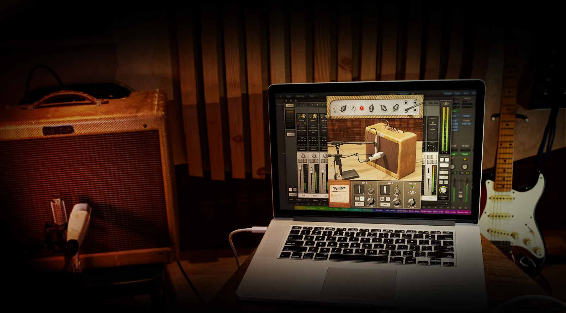Plug-in Fender® '55 Tweed Deluxe