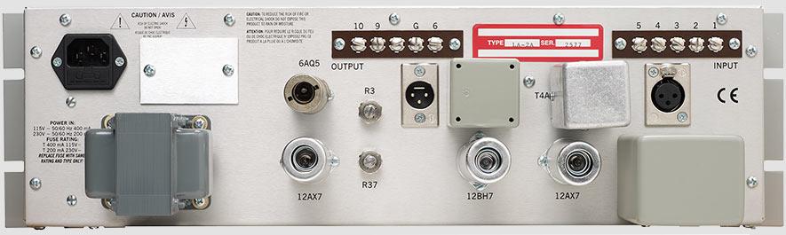 Teletronix LA2A Vintage Compressor Rear