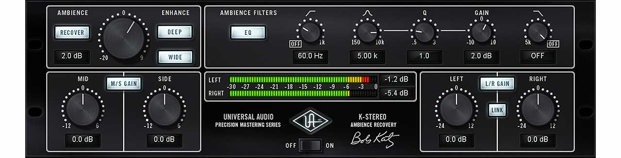 Precision k stereo ambience recovery uad audio plugins universal the precision k stereo ambience recovery plug in for uad 2 and apollo interfaces allows you to precisely enhance the stereo depth and imaging of your mixes stopboris Image collections