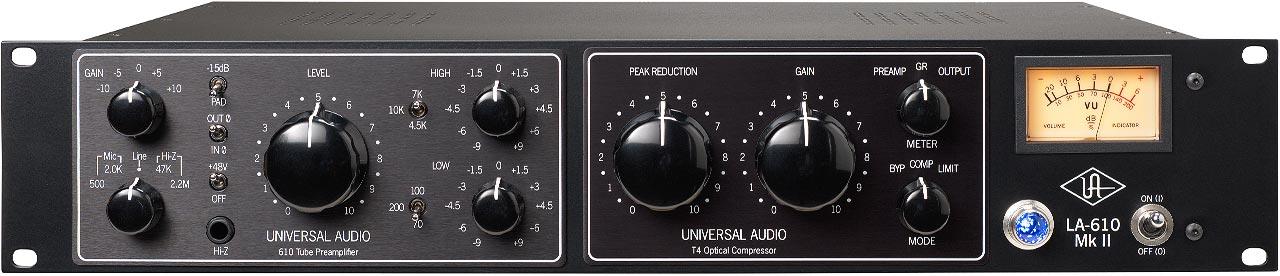 LA-610 MkII | Tube Channel Strip | Universal Audio