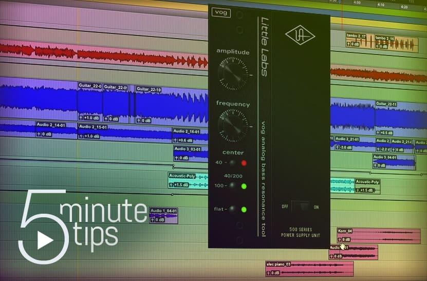 5-Minute UAD Tip