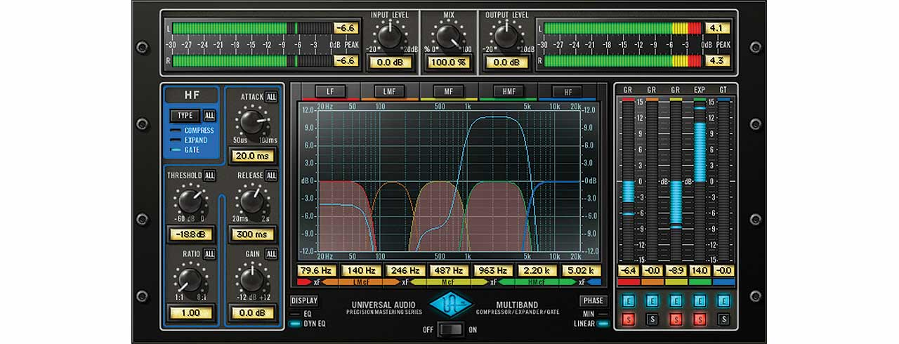 Precision multiband uad audio plugins universal audio the precision multiband plug in for uad 2 hardware and apollo interfaces is a specialized mastering tool that provides five spectral bands of dynamic range stopboris Image collections
