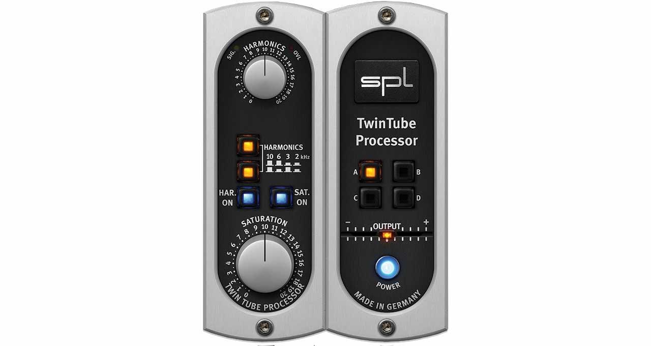spl twintube processor uad audio plugins universal audio