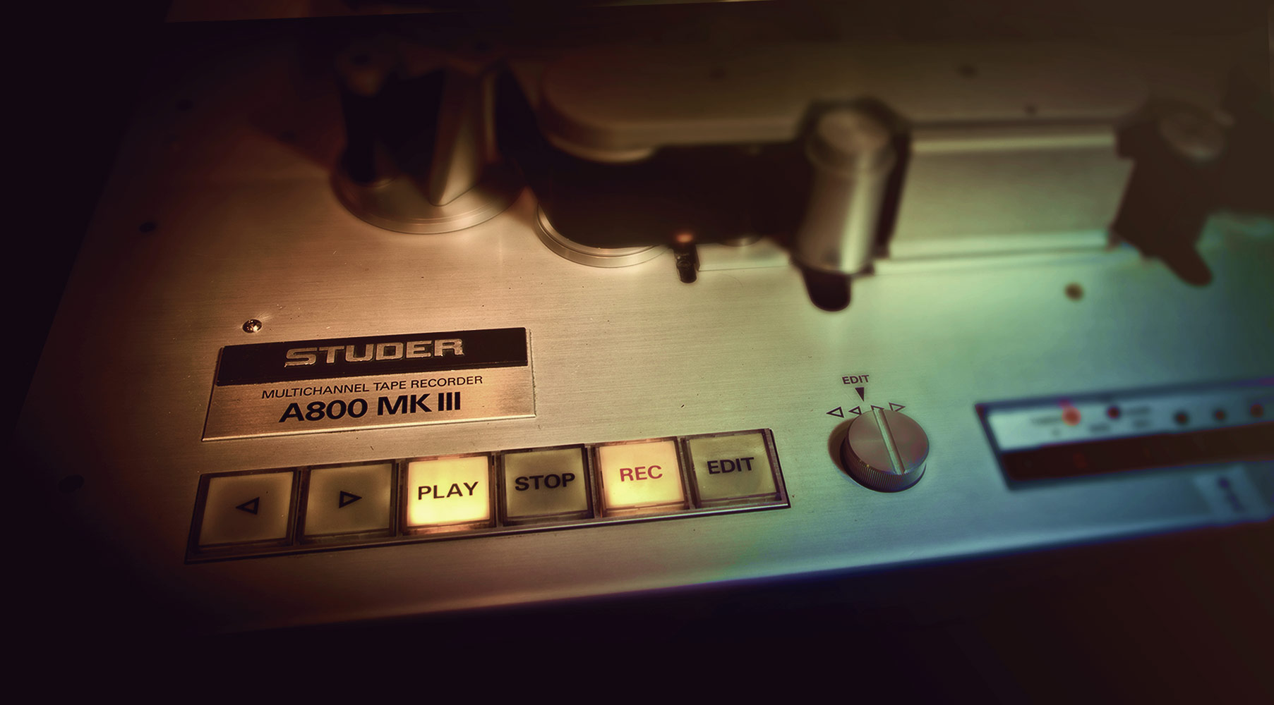 Plug-In Studer® A800 Multichannel Tape Recorder