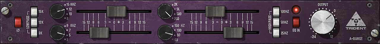 Trident® A-Range Classic Console EQ