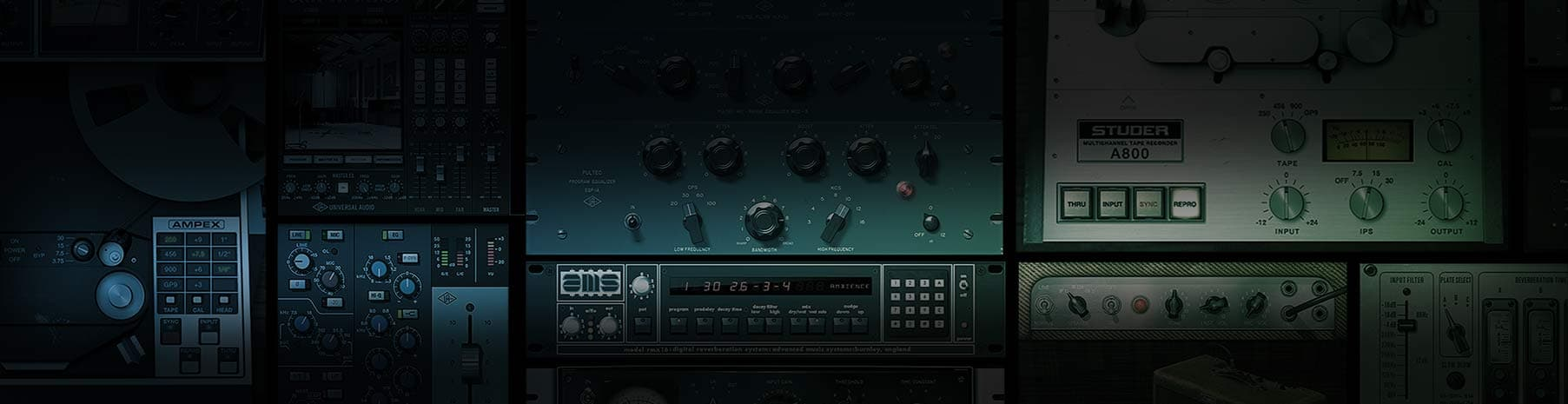 Plugin Bundles | UAD Audio Plugins | Universal Audio