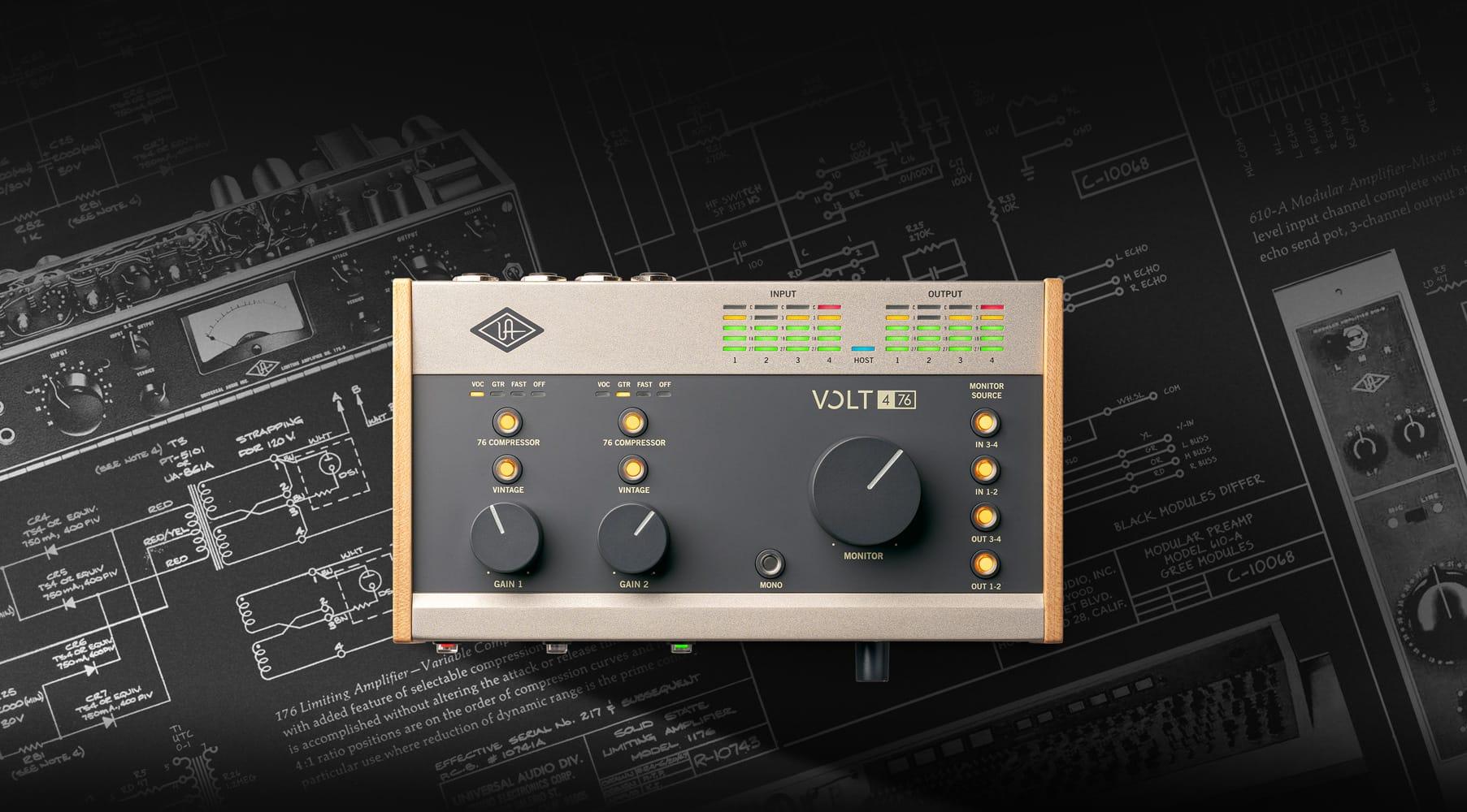 Volt USB Audio Interfaces