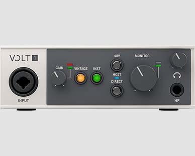 Universal Audio Volt 1 Helikaart
