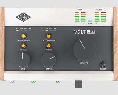 Universal Audio Volt 276 Helikaart