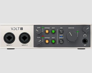 Universal Audio Volt 2 Helikaart