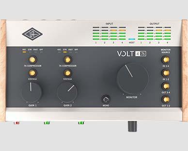 Universal Audio Volt 476 Helikaart
