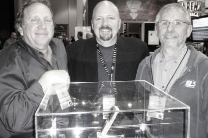 Ed Cherney, Matt Ward and Elliot Scheiner