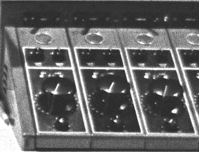 610 Console knobs