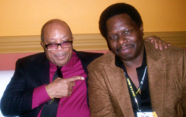 Quincy Jones and Dave Isaac