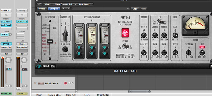 The EMT® 140 Plate Reverb Plug-in