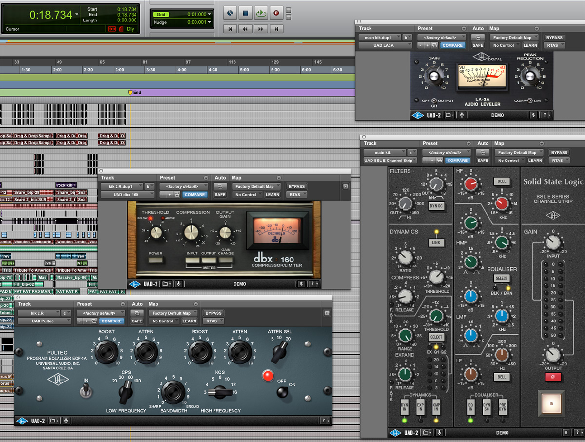 Step-By-Step Mixing with UAD Plug-Ins — Chiddy Bang's