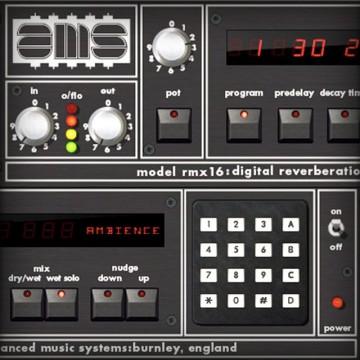 AMS RMX16 Digital Reverb