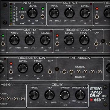 A/DA STD-1 Stereo Tapped Delay